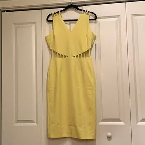 XOXO bodycon dress w/h cut out sides